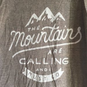 American Apparel Tops - Mountains T-shirt ⛰